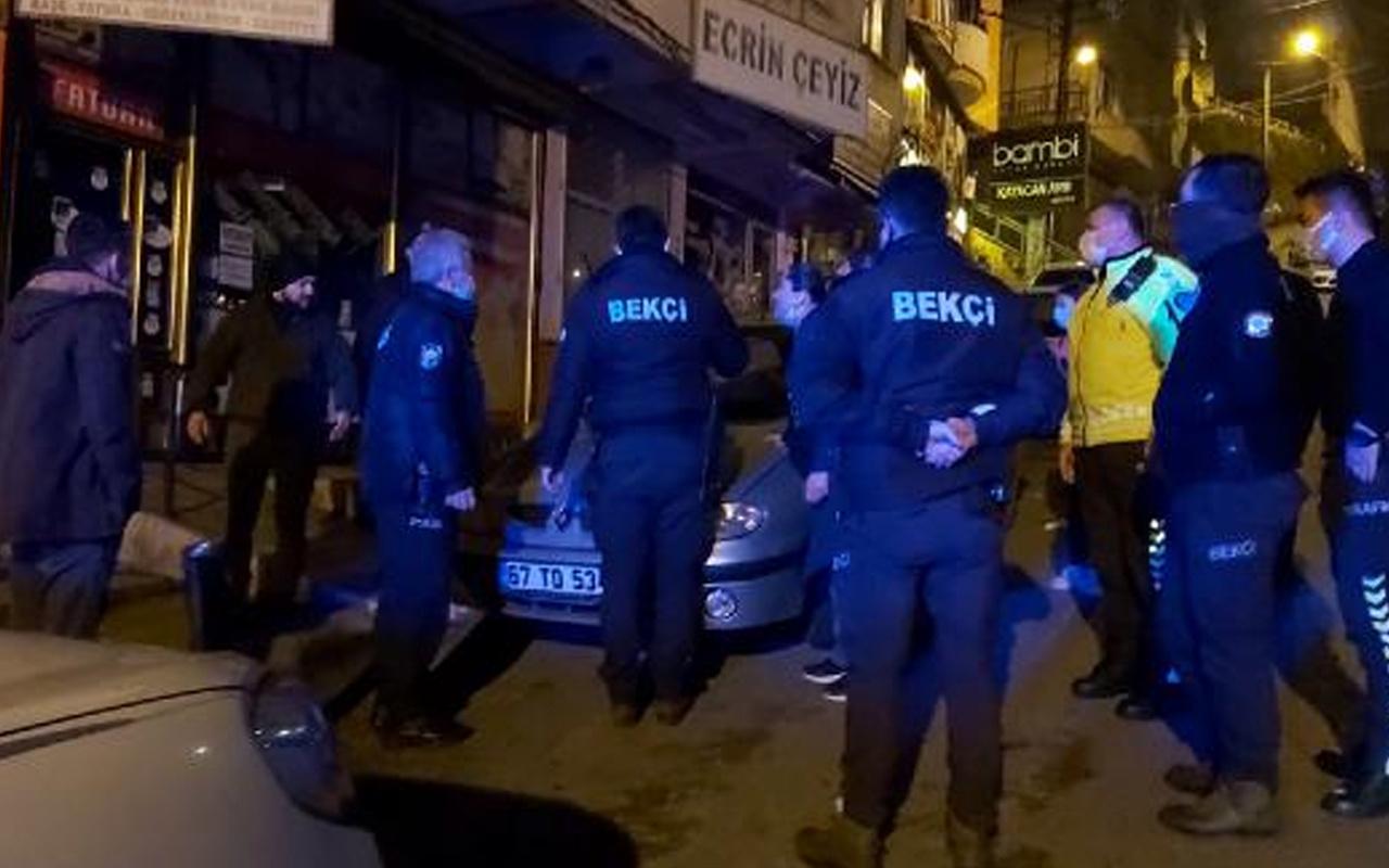 Zonguldak'ta aldatıldığından şüphelenen kadın, kocasını başkasının evinde bastı