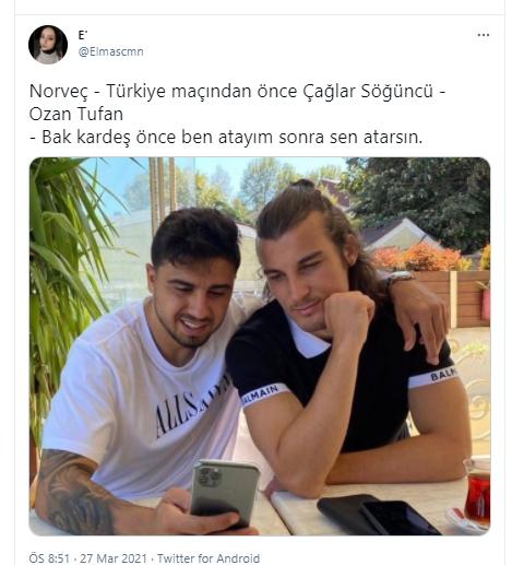Ozan Tufan golüyle Twitter'ı salladı! 'Türkler korkuyor' diyen Linnes binpişman