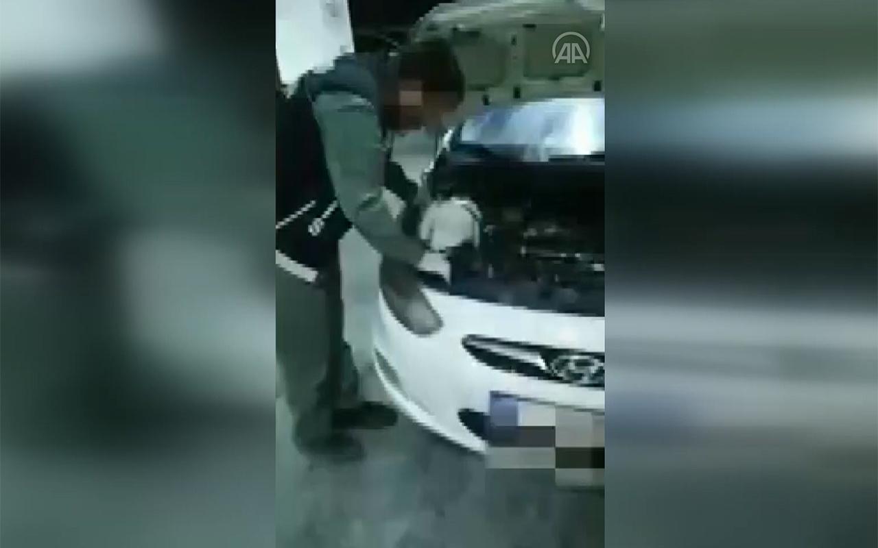 Mardin'de otomobilin silecek suyu haznesine uyuşturucu gizleyen 3 şüpheli tutuklandı