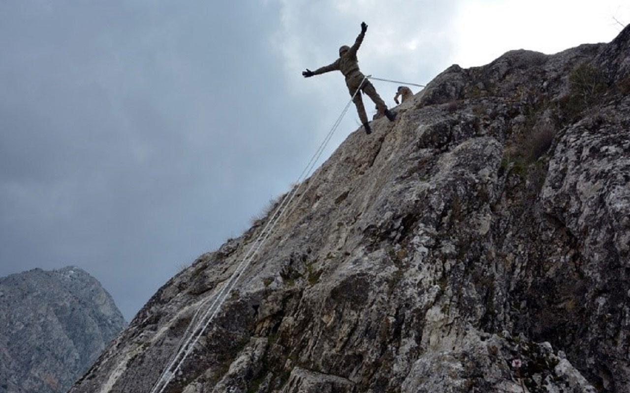 Milli Savunma Bakanlığı açıkladı: Azerbaycan askerlerine 'dağcılık eğitimi' verildi