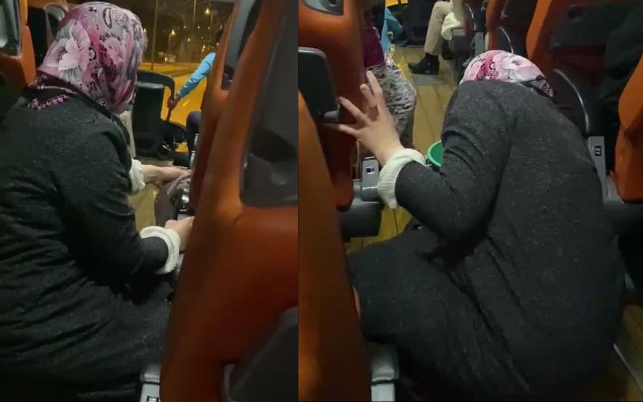 Kamil Koç'ta skandal görüntü! Muavinin engelli kadına söyledikleri ve yaptırdığı tepki çekti