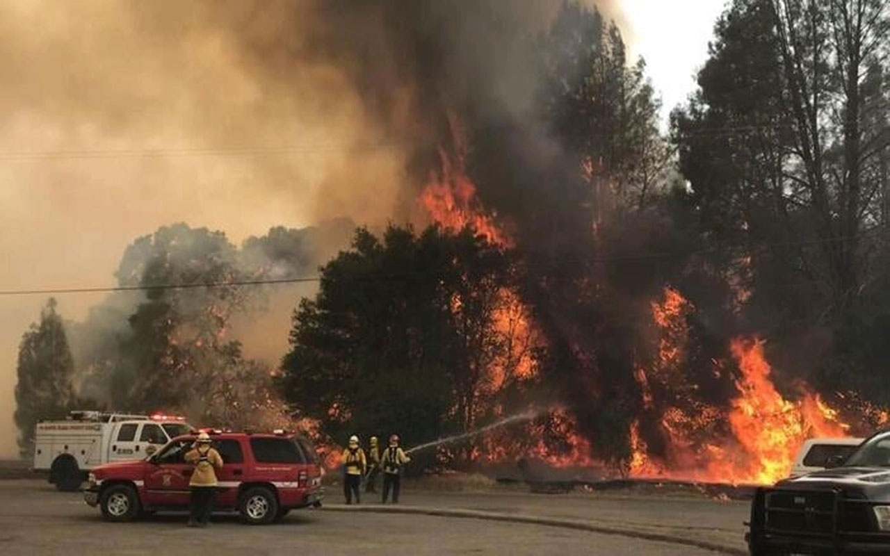 ABD'de yangın dehşeti! Arkansas eyaletinde 5 kişi öldü