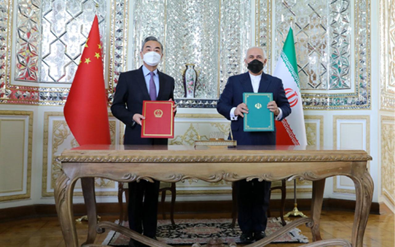 İran ve Çin'den 25 yıllık iş birliği anlaşması! 'Kuşak ve Yol' projesi