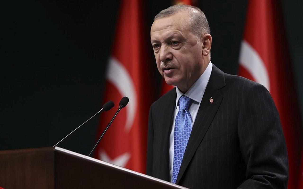 Cumhurbaşkanı Recep Tayyip Erdoğan'ın açıklamaları