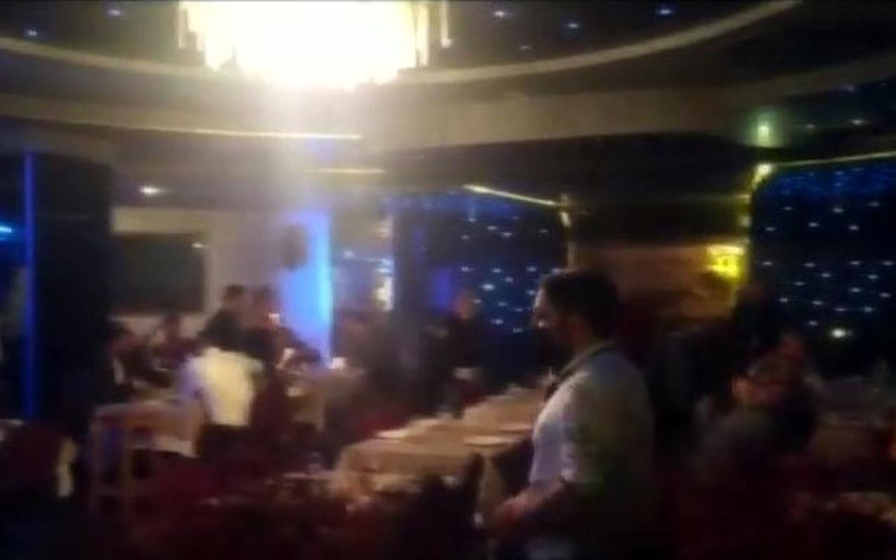 Ataşehir'de otelin restoranına koronavirüs baskını