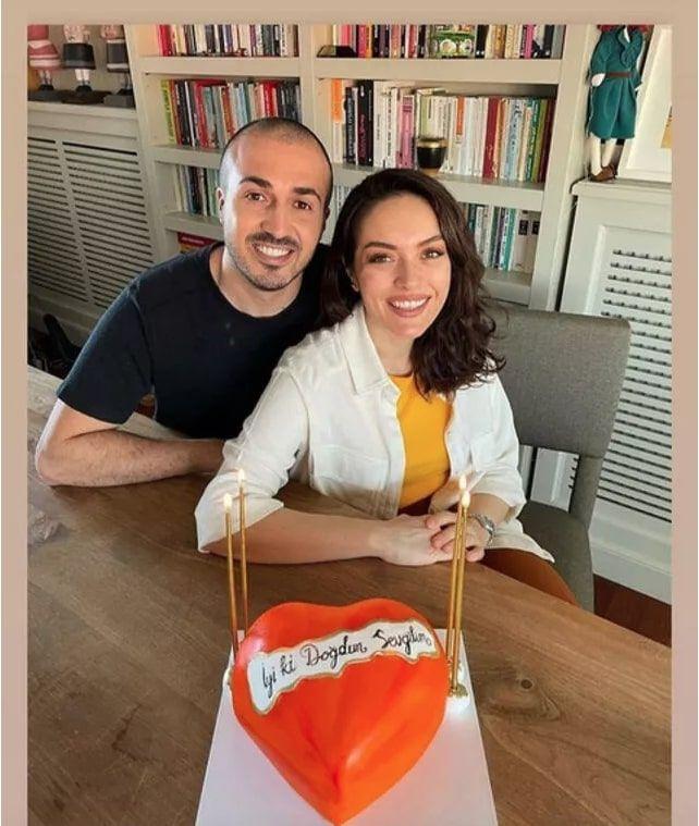 Masumlar Apartmanı Safiye'si Ezgi Mola sevgilisiyle doğum gününü böyle kutladı