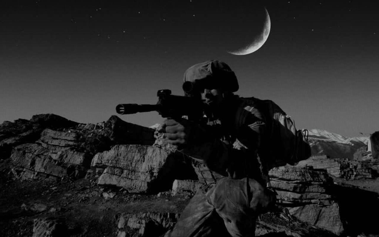 Milli Savunma Bakanlığından Süper Ay ışığında terörle mücadele paylaşımı