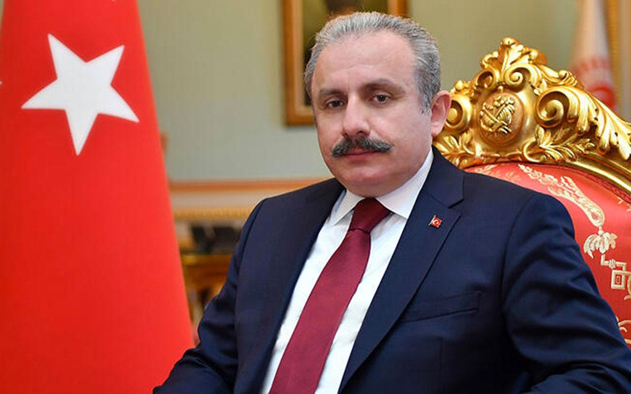 """TBMM Başkanı Mustafa Şentop'tan sert """"Montrö"""" açıklaması: Bu bir fikir haysiyetsizliğidir"""