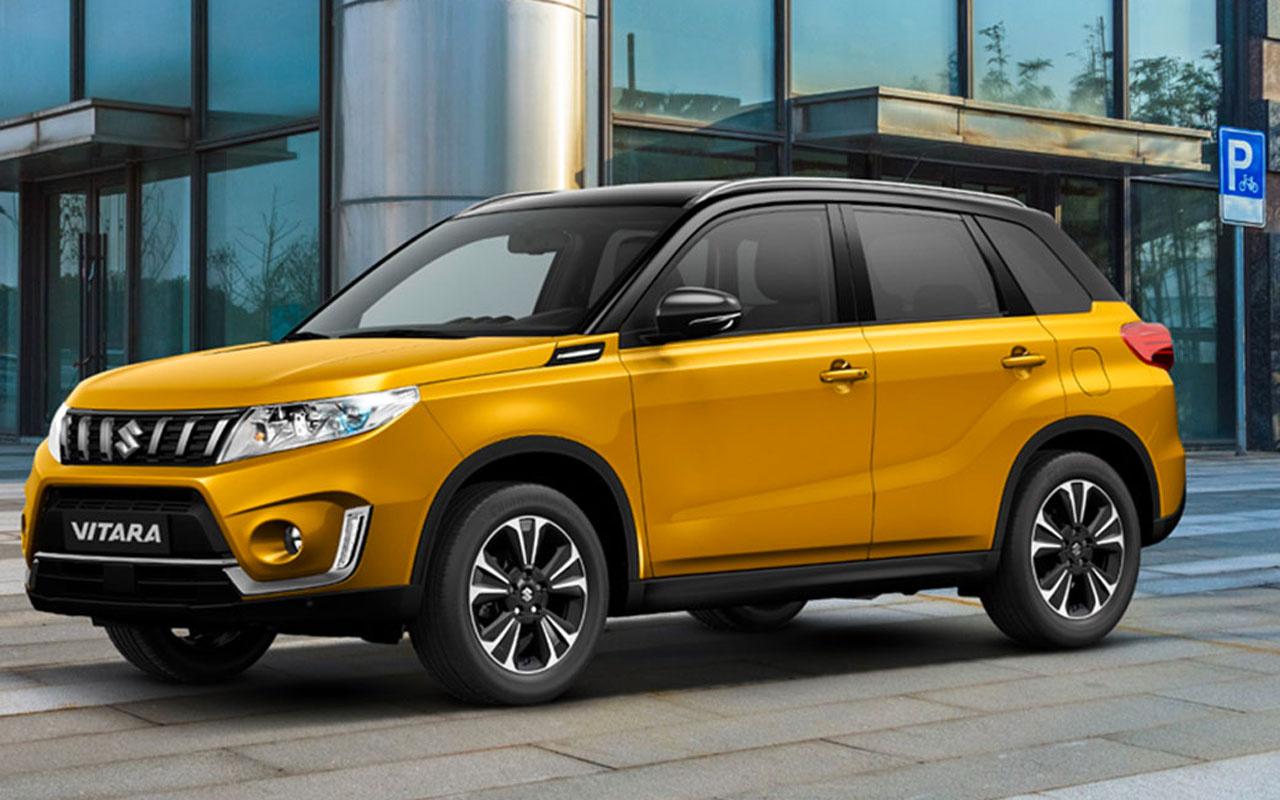 Suzuki Vitara ve SX4 S-Cross modellerinin hibrit teknolojili versiyonlarını satışa sundu