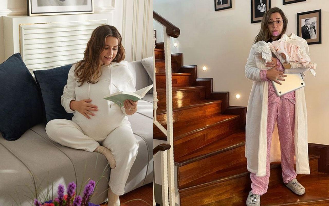 1 ay önce anne olan Merve Özbey doğum anını paylaştı