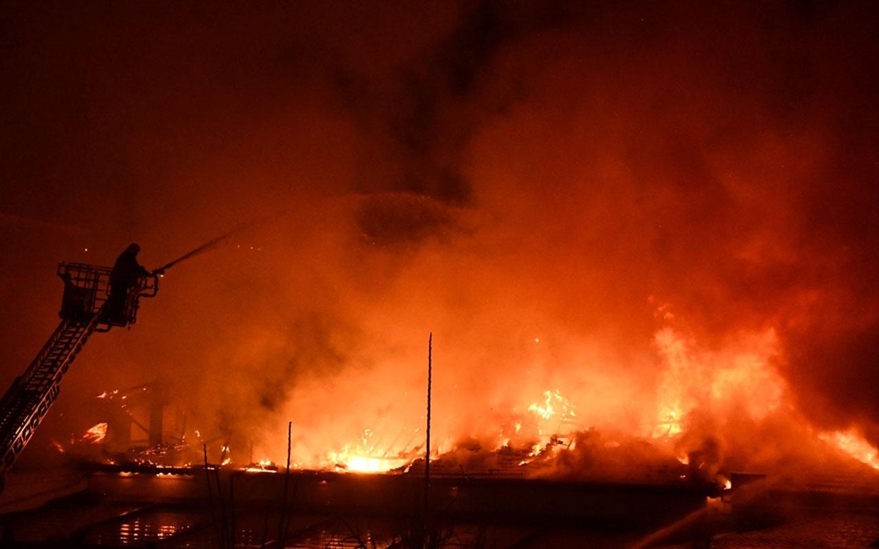 Kahramanmaraş'ta orduevinde korkutan yangın