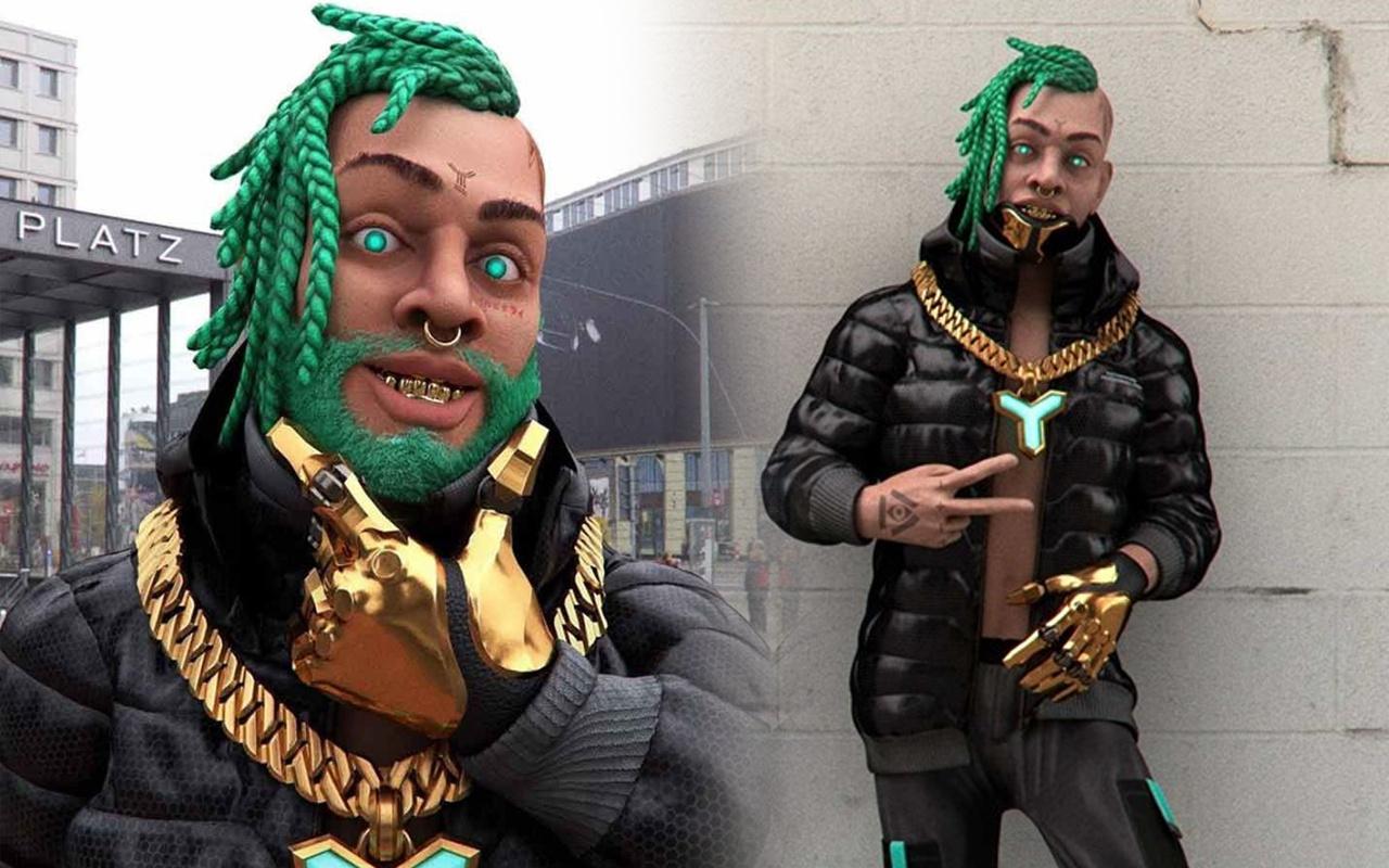 Robot rap şarkıcısının tuvaleti NFT ile satıldı! Fiyatını duyanlar inanamadı
