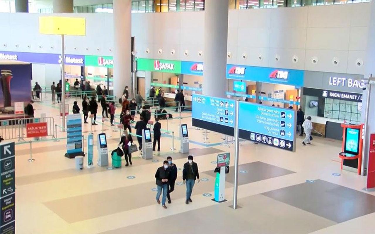İstanbul'daki havalimanlarında 469 bin 735 yolcuya yapılan koronavirüs test sonuçları açıklandı