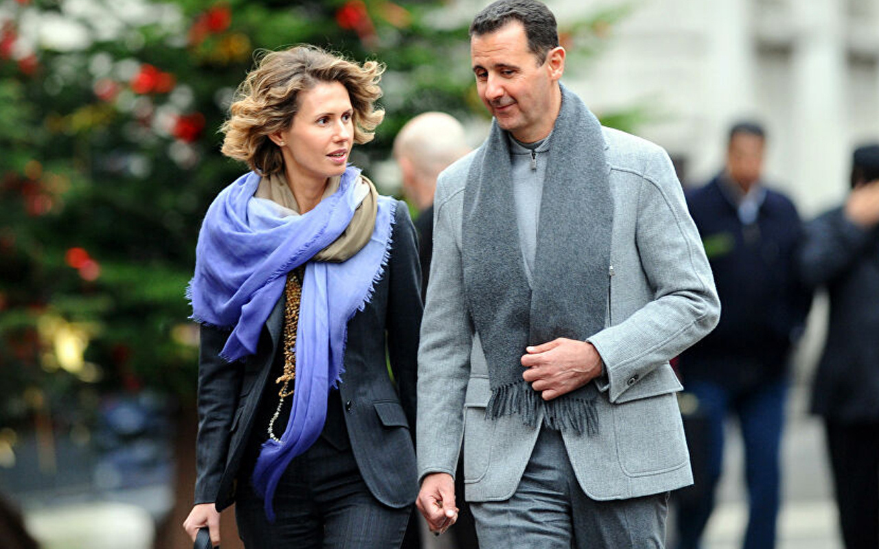 Beşar Esad ve eşi Esma Esad Covid-19'u yendi