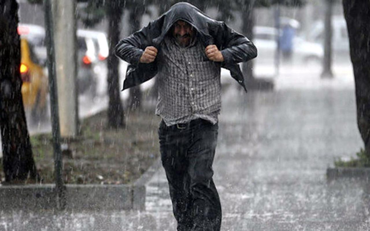 Meteoroloji uyardı sıcaklıklar düşüyor! Sağanak yağış etkili olacak İstanbul da dahil