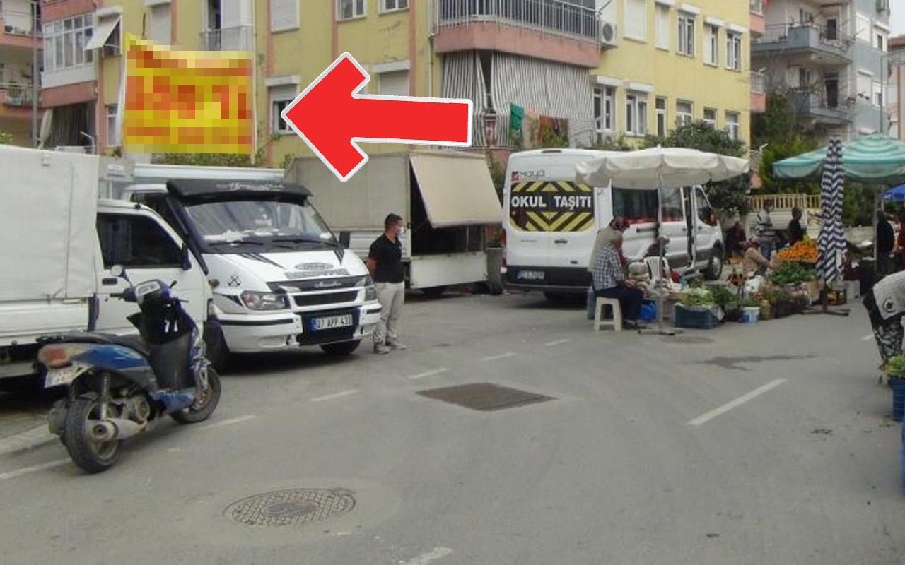 Antalya'da pankartı görenler şaştı kaldı! 650 TL'ye satıyor