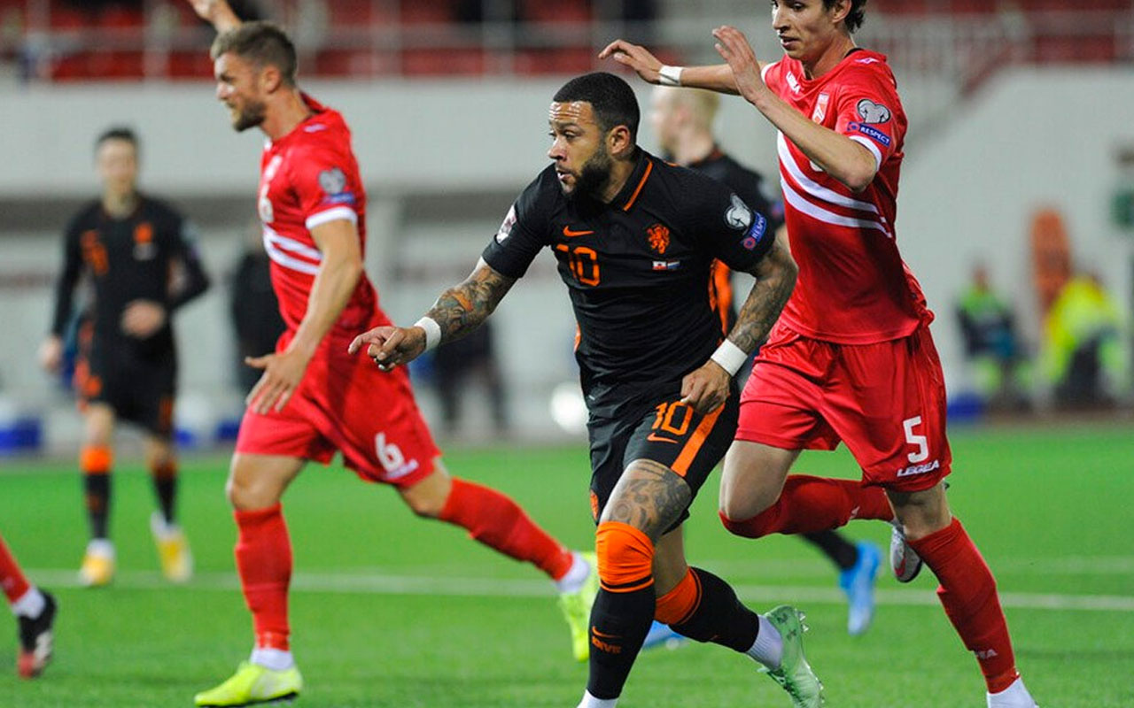 Hollanda 7 golle kazandı grupta işte karıştı! İşte puan durumu