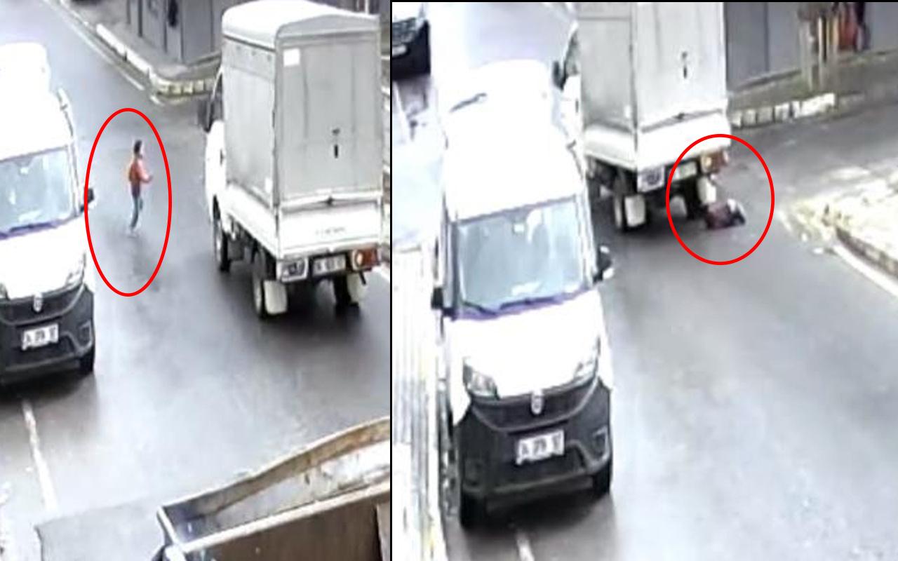 İstanbul'da yürek yakan olay! Çocuğun üzerinden kamyonet geçti acı haber geldi