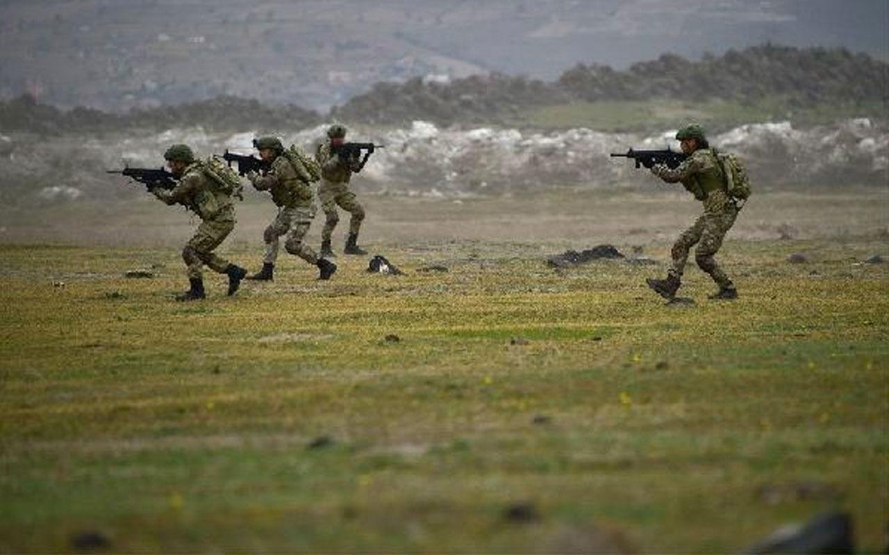 Son dakika Fırat Kalkanı bölgesinde 3 PKK/YPG'li terörist öldürüldü