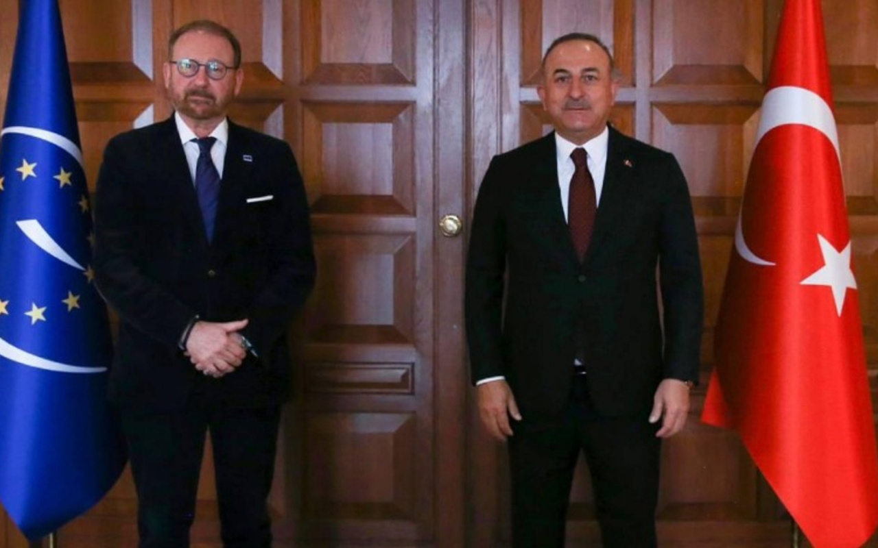 Bakan Çavuşoğlu, Avrupa Konseyi Parlamenter Meclisi Başkanı ile görüştü