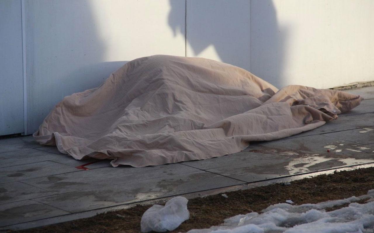 Erzurum'da 6'ncı kattan düşen yaşlı kadın hayatını kaybetti