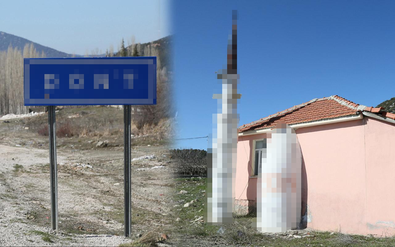 Muğla'da tabela ve minareyi gören inanamadı! Dine aykırı bulundu