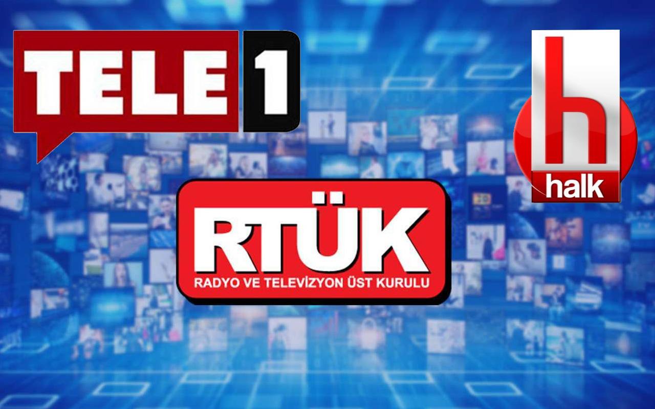 RTÜK o sözleri affetmedi! Halk TV ve Tele 1'e ceza yağdı