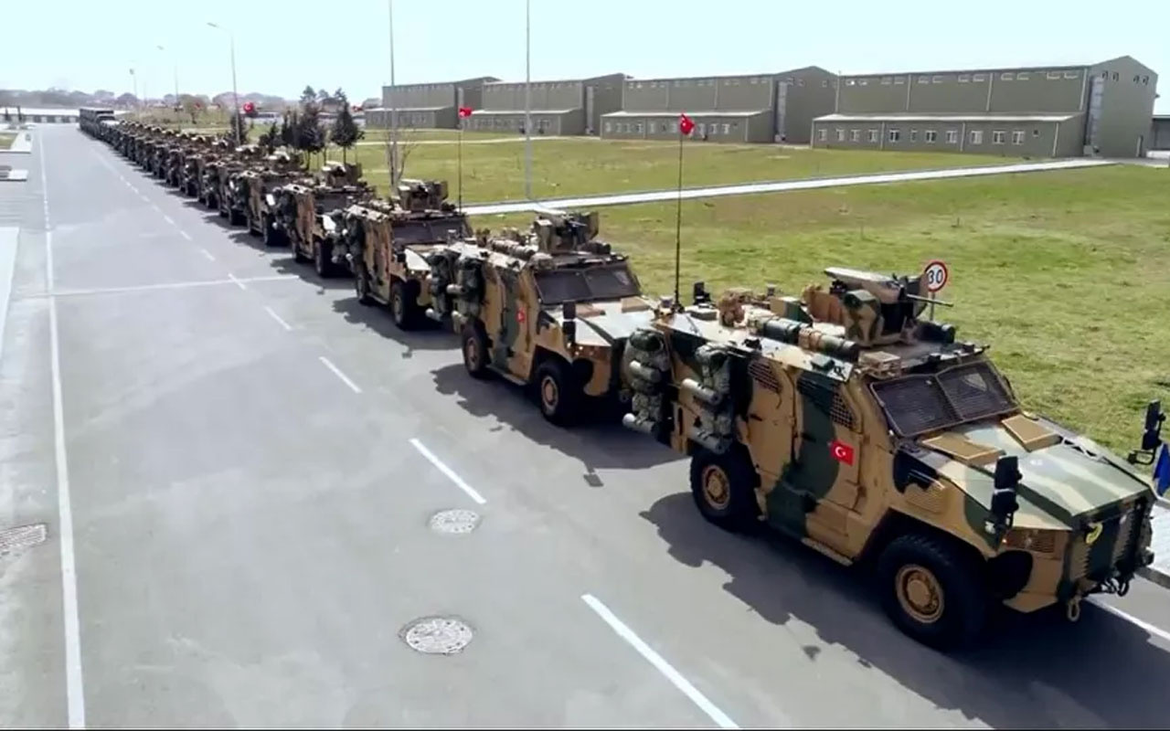 NATO Alarm Tatbikatı, Tekirdağ'da gerçekleştirildi