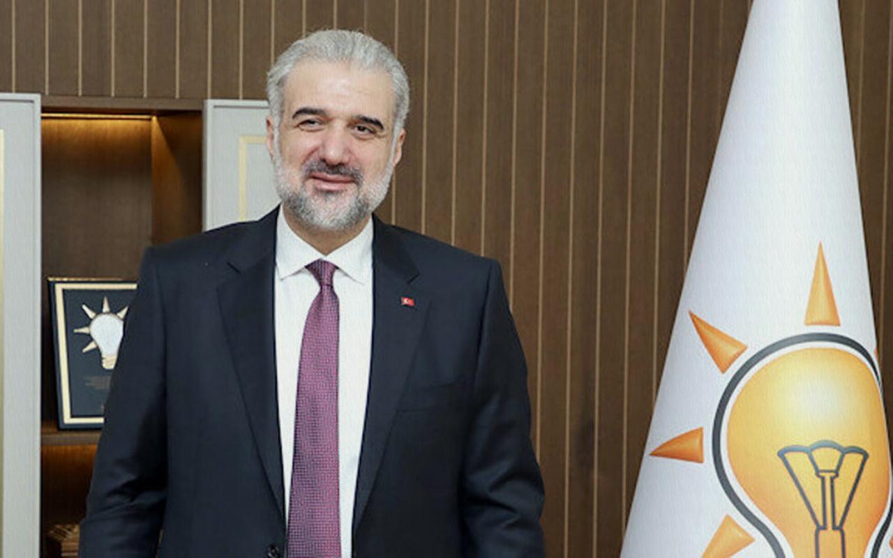 AK Parti İl Başkanı Osman Nuri Kabaktepe'yi kızdıran paylaşım