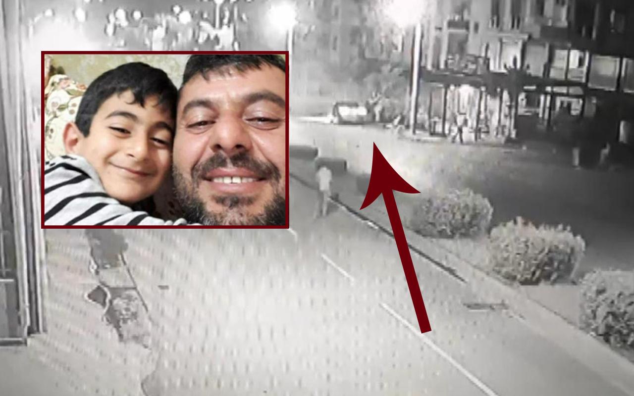 Mersin'de baba ve oğlunun hayatını kaybettiği korkunç kazanın anı