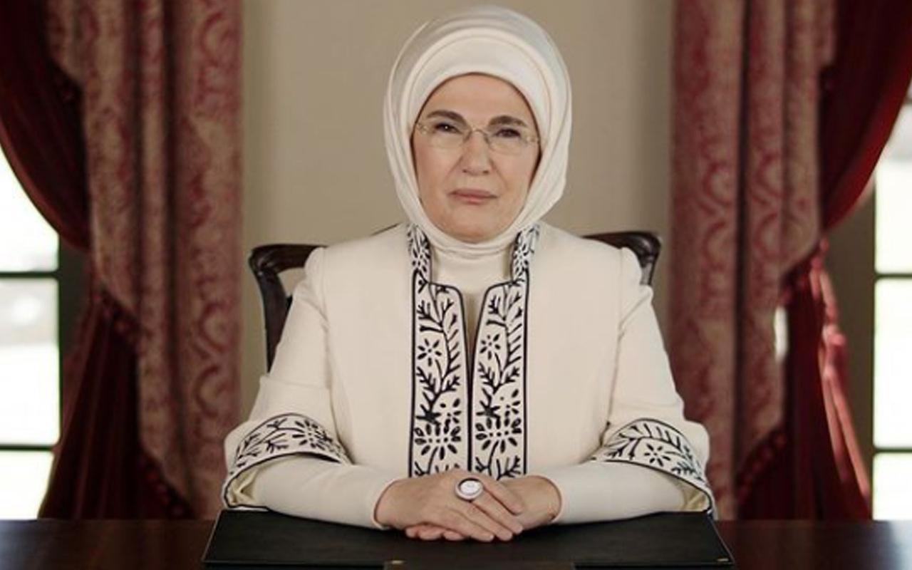 Emine Erdoğan, emniyet teşkilatına teşekkür etti