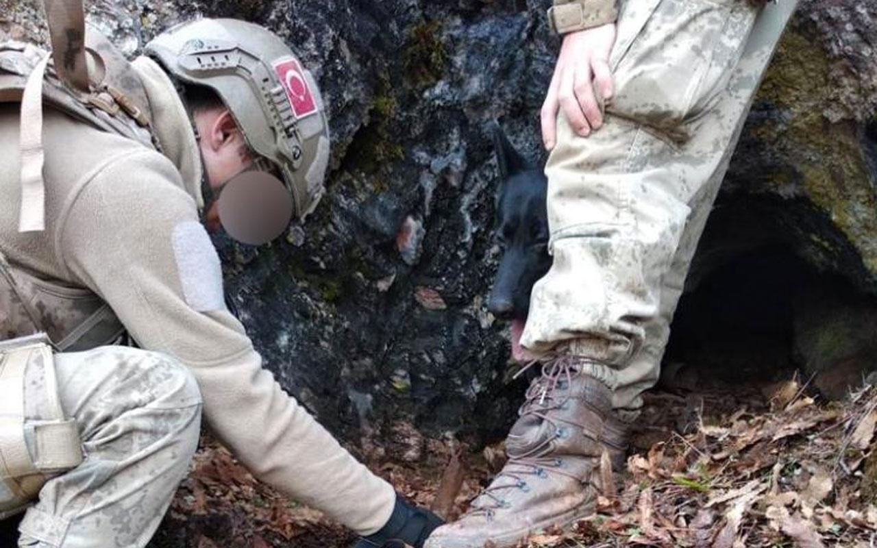 Tunceli'de teröristlerin kullandığı 2 mağara imha edildi