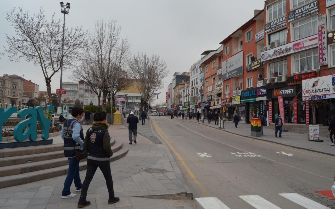 Aksaray'da tam kapanma işe yaradı! Validen umut veren açıklama