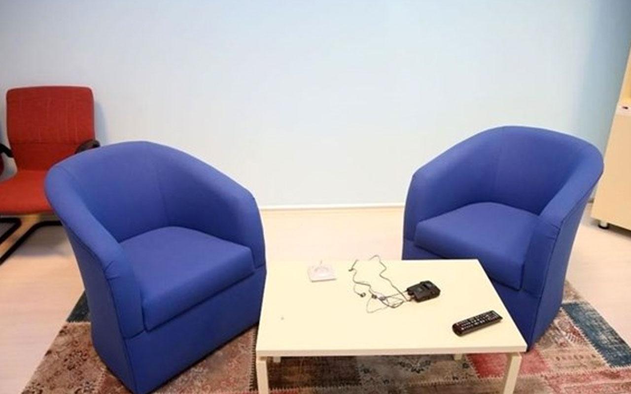 Adli görüşme odalarının kullanımıyla ilgili genelge