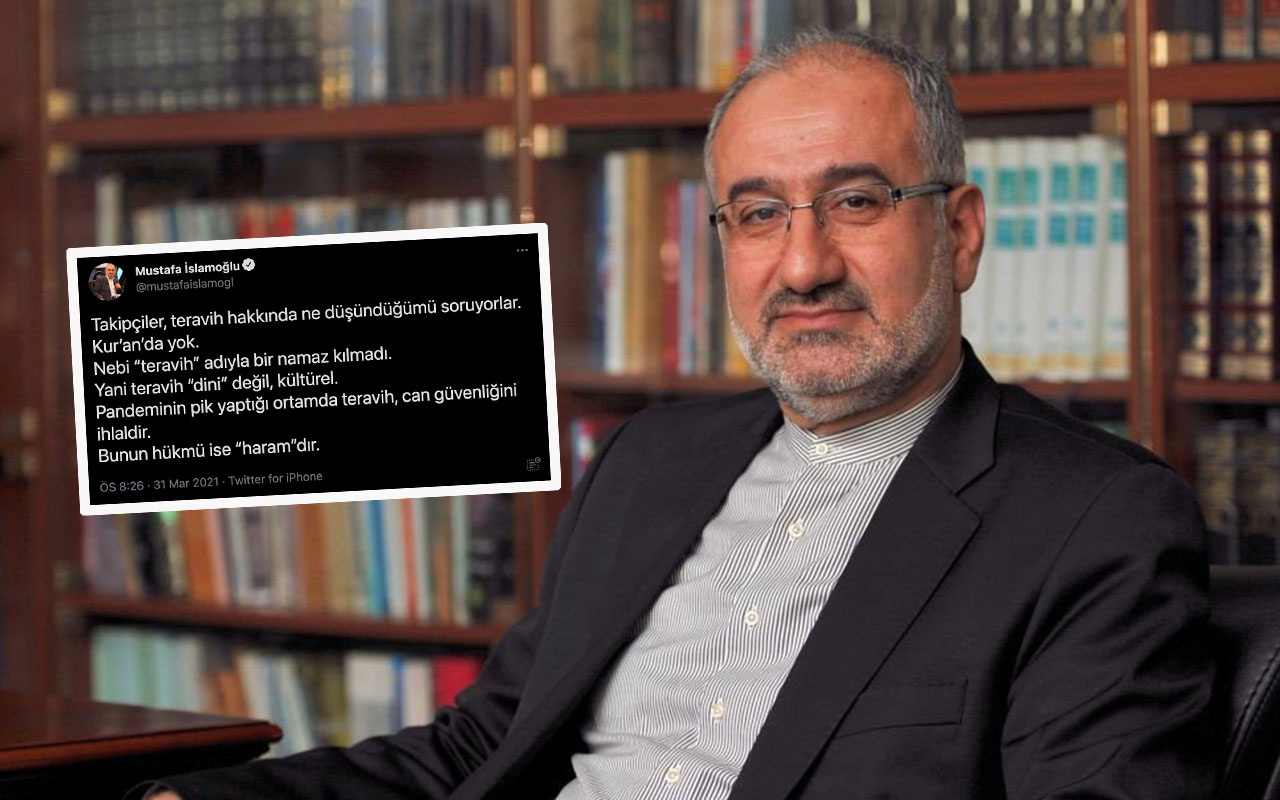 Mustafa İslamoğlu'ndan olay teravih fetvası! Teravih kılmak haramdır