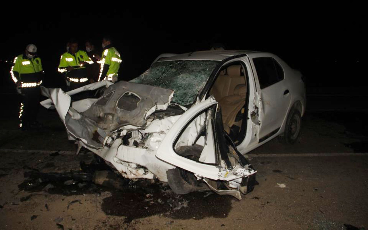 Şanlıurfa'da feci kaza: 5 ölü 1 yaralı