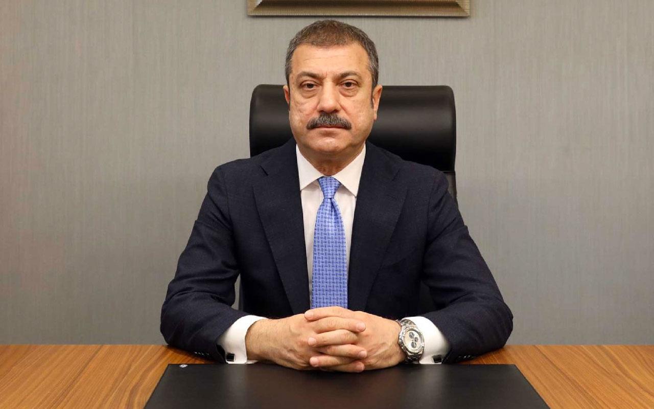 Merkez Bankası Başkanı Şahap Kavcıoğlu'ndan enflasyon açıklaması