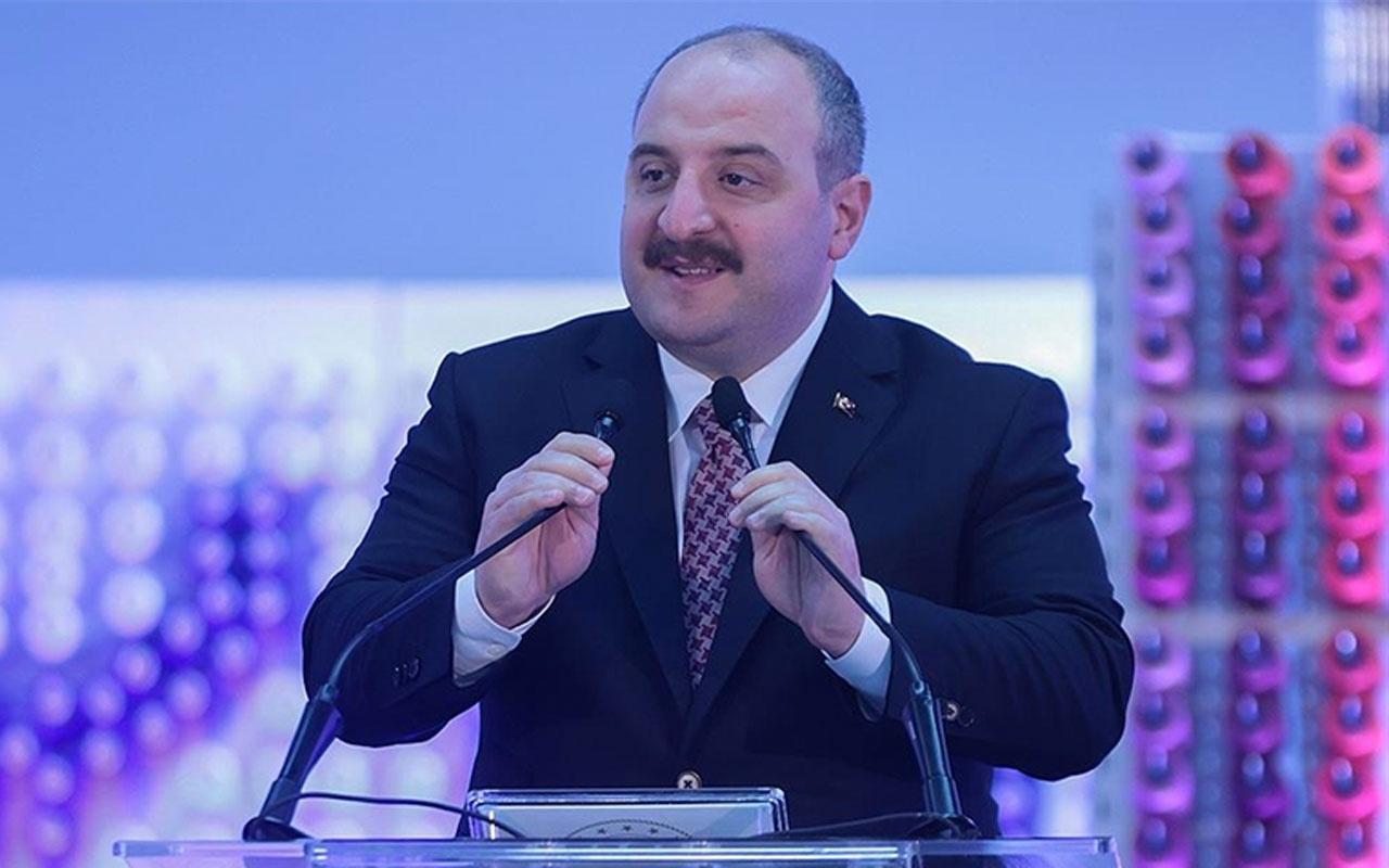 Sanayi ve Teknoloji Bakanı Mustafa Varank: Üreterek büyümeye devam ediyoruz