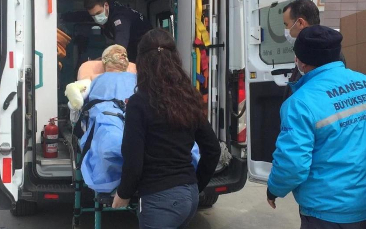 Manisa'da üstüne oturduğu tenekeden sızan tiner sobayla buluşunca ağır yaralandı