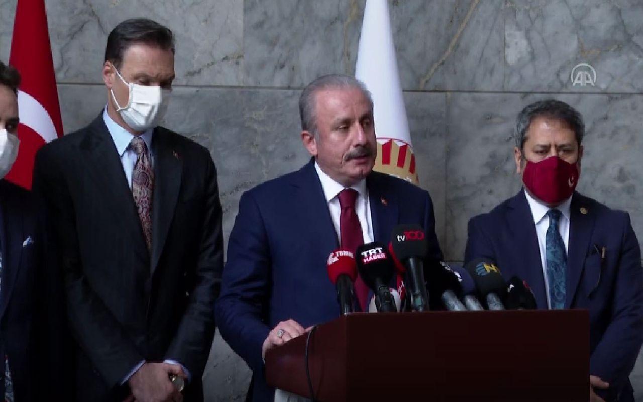 Mustafa Şentop'tan güvenlik soruşturması oylamasına ilişkin açıklama Özgür Özel'e sert sözler