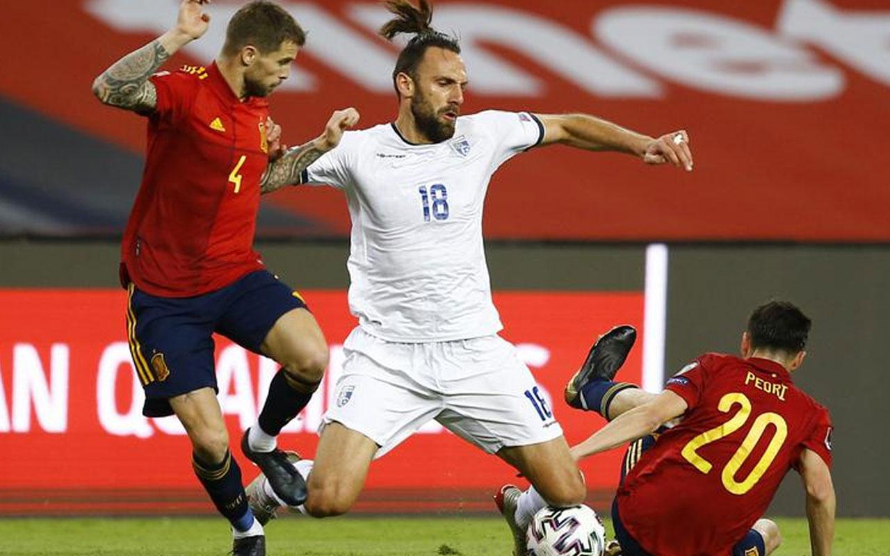 İspanya Kosova maçında kriz çıktı
