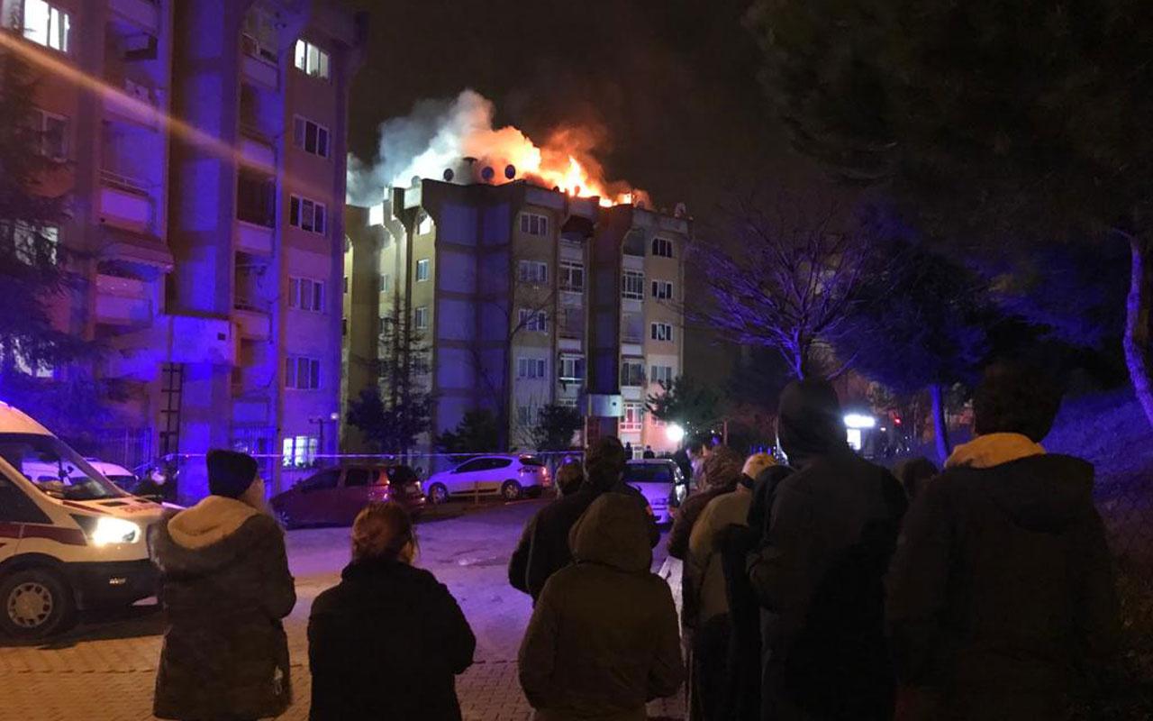 İzmit'te ailesiyle tartışıp yaşadıkları evi yaktı