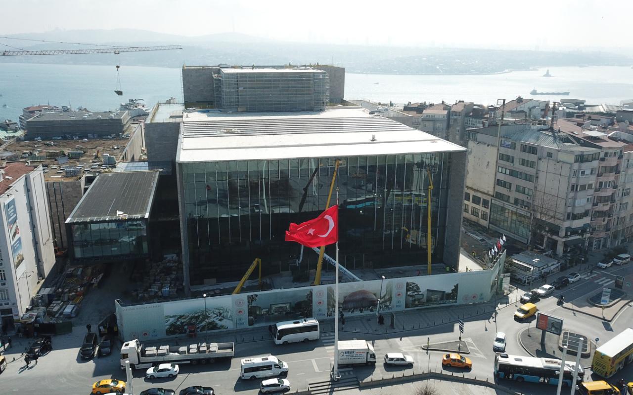 29 Ekim'de açılacak! Taksim'deki yeni AKM binasının maliyetini Bakan Ersoy açıkladı