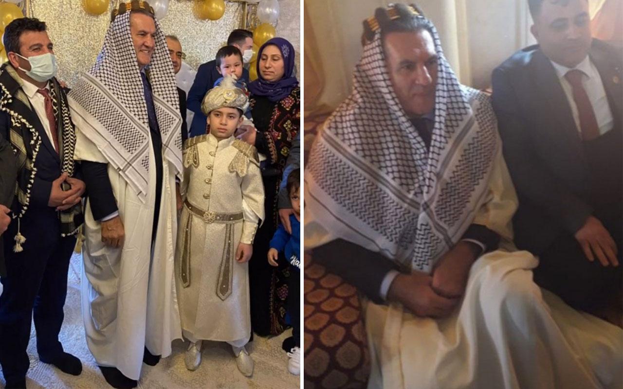 TDP Lideri Mustafa Sarıgül, Şanlıurfa'da sünnet düğününe katıldı renkli görüntüler verdi