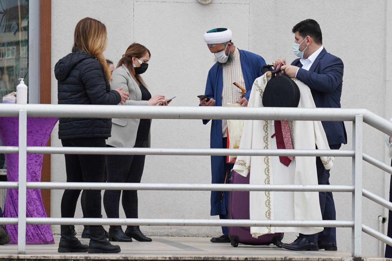 Cübbeli Ahmet Hoca'nın kızı Ümraniye'de dünyaevine girdi
