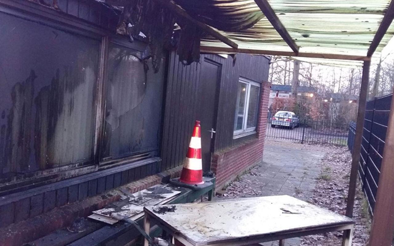 Avrupa'da İslamofobi hız kesmiyor! Hollanda'da cami kundaklandı