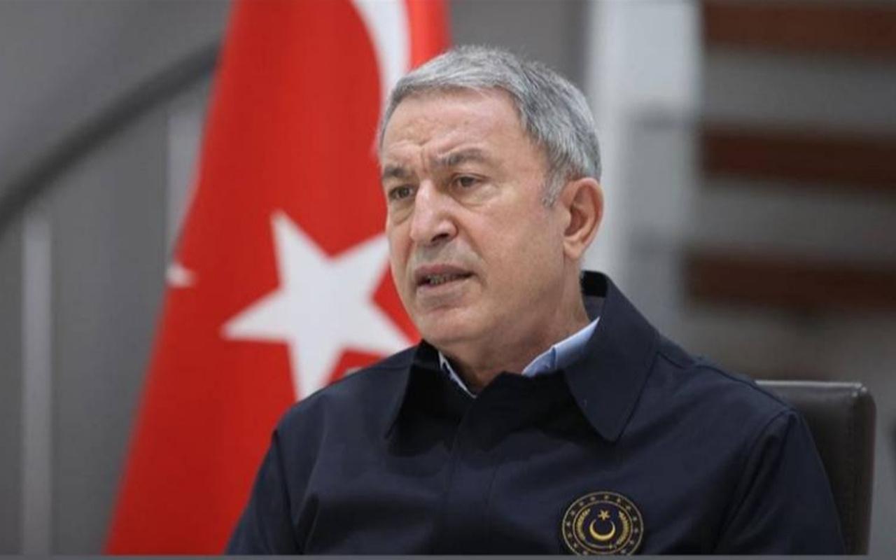 Bakan Hulusi Akar'dan net mesaj: Mehmetçiğin nefesi teröristlerin ensesinde
