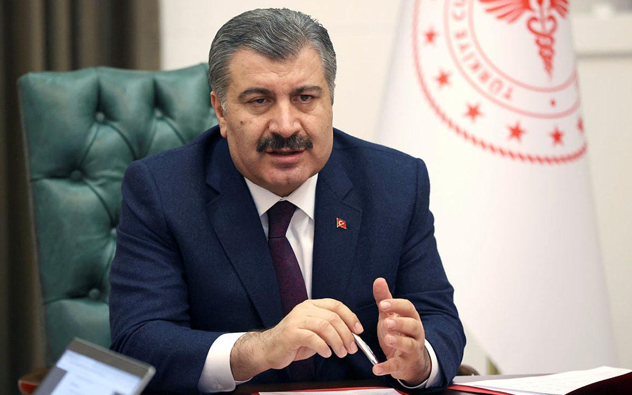 Sağlık Bakanı Fahrettin Koca Türkiye'nin dünyadaki aşı sıralamasını paylaştı