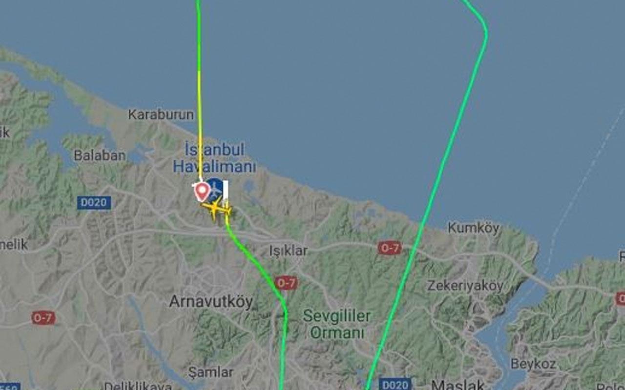 Teknik arıza yaşanan THY uçağı İstanbul'a geri döndü