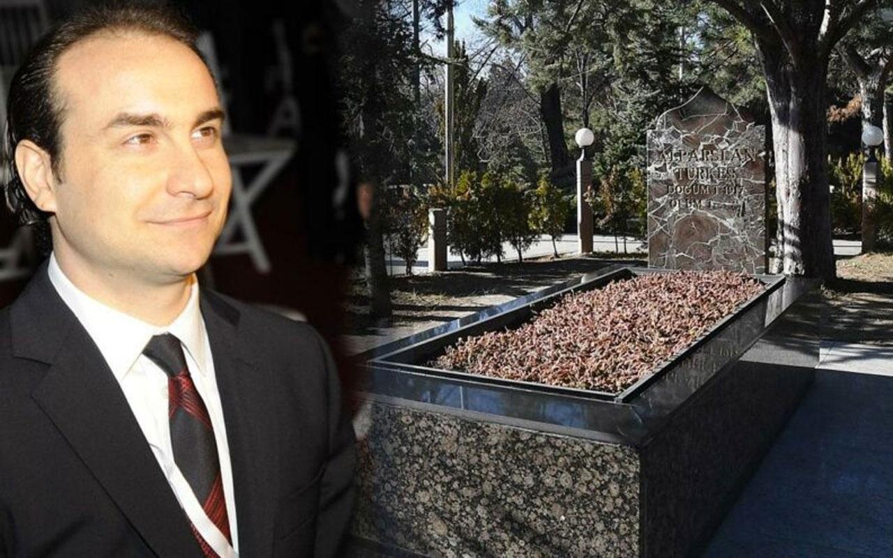 Alpaslan Türkeş'in oğlu, babasının ölüm yıl dönümünde kabir ziyaretine alınmadı